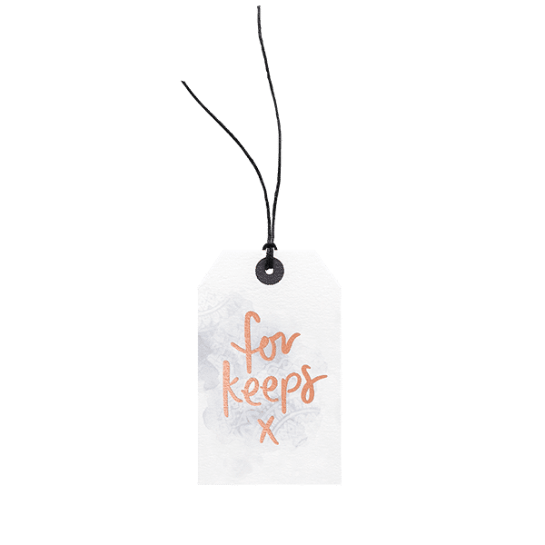 For Keeps // Gift Tag The Wholesome Gift Box
