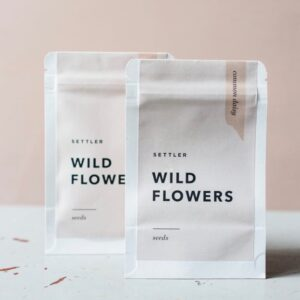 Settler Hives, Wild Flowers, Zinnia Seeds The Wholesome Gift Box