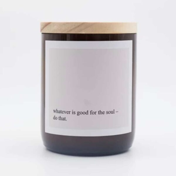 The Commonfolk Collective, Quote Soy Candle The Wholesome Gift Box