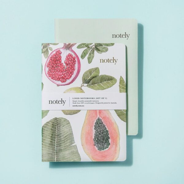 Notely, Perfectly Picked & Minty Leaf Notebook The Wholesome Gift Box