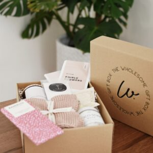 Luxury gift hampers: Creating the perfect self-care kit The Wholesome Gift Box