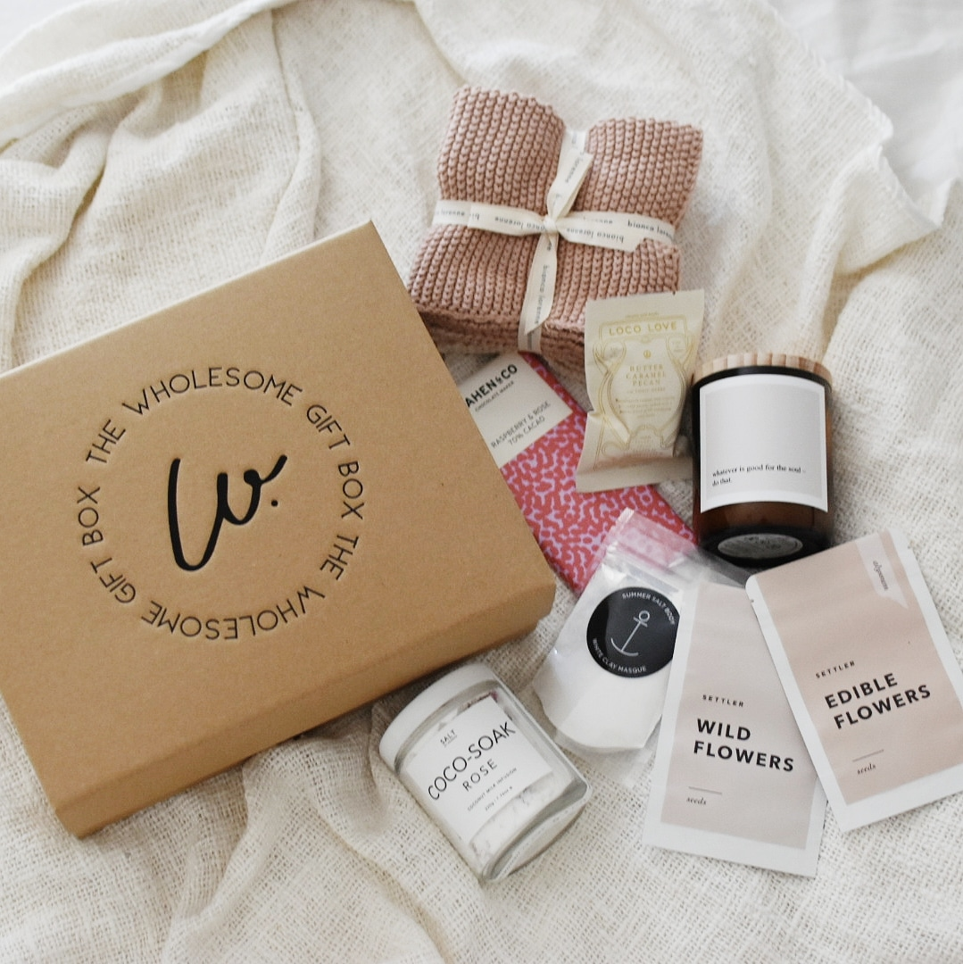 Luxury gift hampers from The Wholesome Gift Box