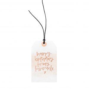GiftTag.HappyBirthdayFavourite