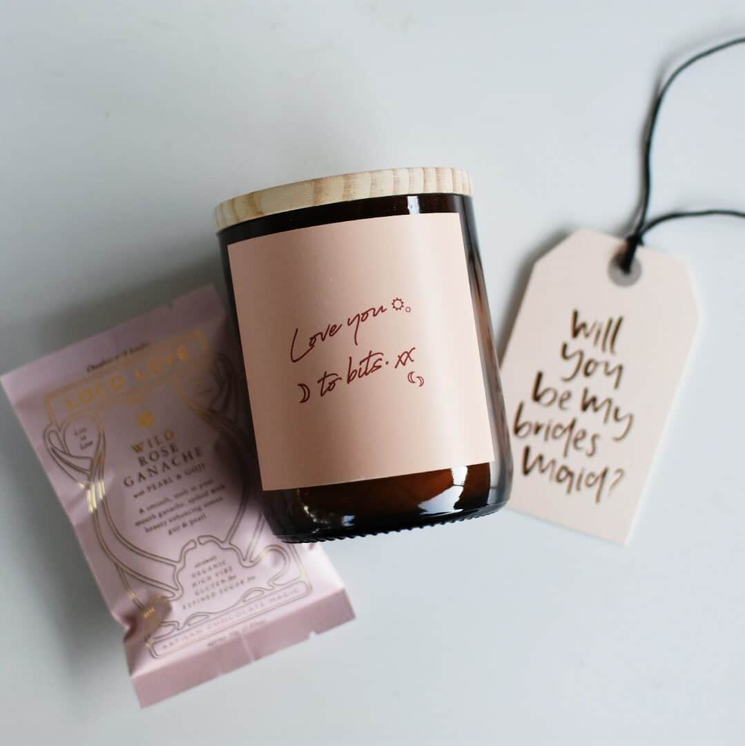 Beautiful Bridesmaid Gift Hampers The Wholesome Gift Box