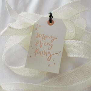 christmas gifts merry everything gift tag