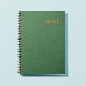 Notely.A5ForestGreenNotebook